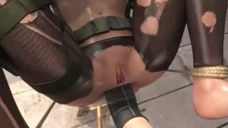 Hentai Western Girl Bounded And Ass-fucked