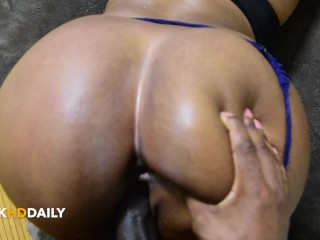 Fucking My Thick Butt Homegirl…pussy Had My Toes Curling