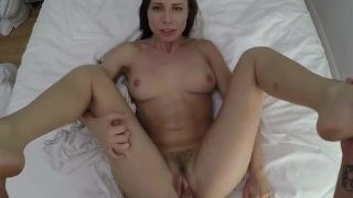 Povd Ideal Morning Waking Up Fuck With Brunette Aidra Fox